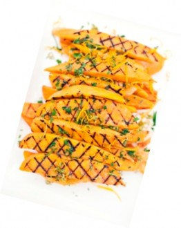 Sweet Potatoes with Citrus Dressing