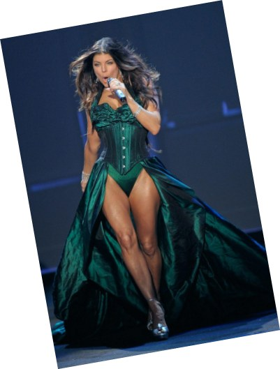 Fergie performs at the Victoria Secret Fashion Show, 2009